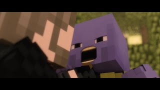 If Avengers Infinity Wars Was Done In Minecraft (Animation)