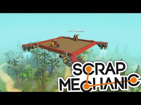 MÁME ZÁCHRANOU AKCI S DRONAMA!:D - Scrap Mechanic! #7 w/Porty
