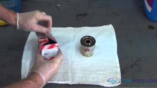 Engine Oil Change and Filter Toyota Corolla