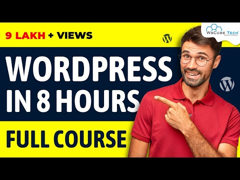 Complete WordPress Tutorial for Beginners (Step by Step) - Full Course | WsCube Tech Coupon