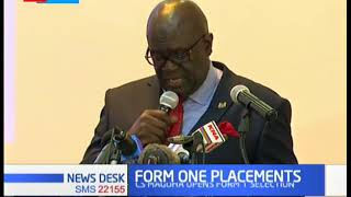 CS Magoha opens form 1 selection, 33,099 to join National Schools