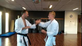 Figure-8 oefening | basis partneroefening