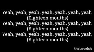 """THEY. """"18 Months"""" Feat. Ty Dolla $ign Lyrics"""