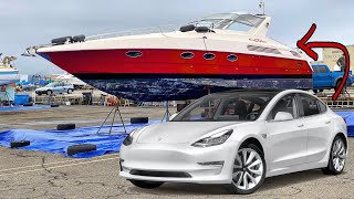 Tesla Powering my 30yr Old Italian Yacht? And Broken Diesel Engine Diagnostics