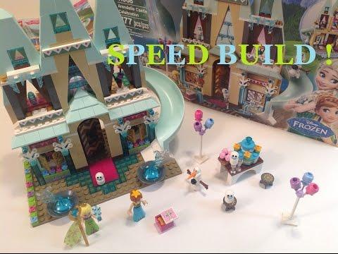 Vidéo LEGO Disney 41068 : L'anniversaire d'Anna au château
