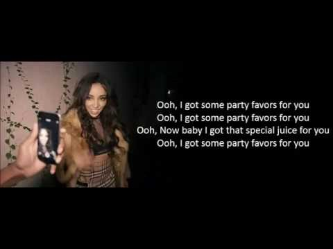 Tinashe - Party Favors ft. Young Thug [Lyric Video]