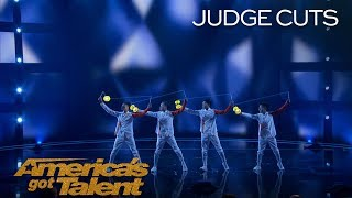 Diabolowalker: Diabolo Group Brings Awesome Performance To AGT - America's Got Talent 2018