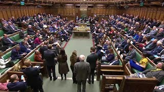 Parliament debates and votes on May's Brexit deal – watch live
