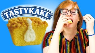 Irish People Try Tastykake