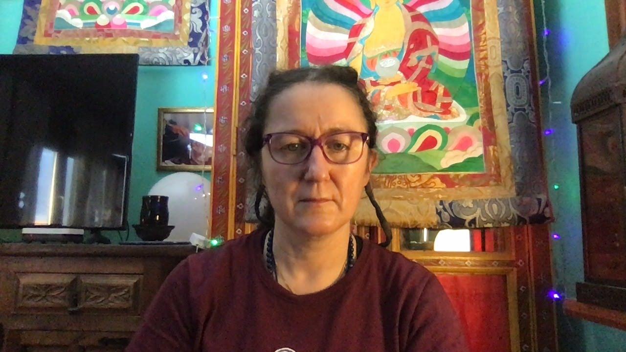 Lama Gangchen Tantric Self-Healing 2- Commentary by Lama Caroline - part 44 (EN)
