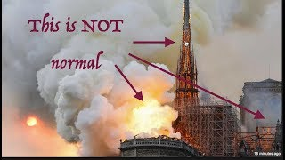 Notre Dame Incinerated