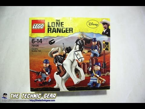 Vidéo LEGO The Lone Ranger 79106 : La cavalerie