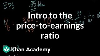Introduction to the Price-to-Earnings Ratio