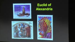 The History of Mathematics in 300 Stamps –  Oxford Mathematics – 2016