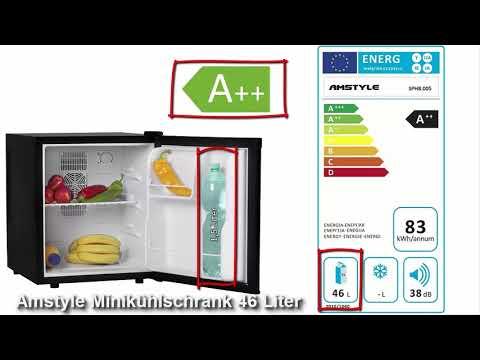 Amstyle Minikühlschrank 46 Liter Test 2018 - Lohnt sich der Kauf? Bester Minikühlschrank?