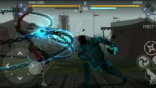 SHADOW FIGHT 3 ||BOSS SARGE FINAL FIGHT|| CHAPTER 01 HD GAMEPLAY