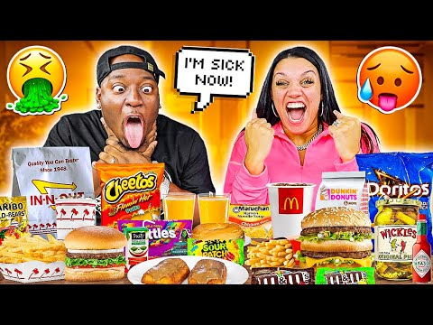 Bro Tried His Wife's Pregnancy Craving Foods