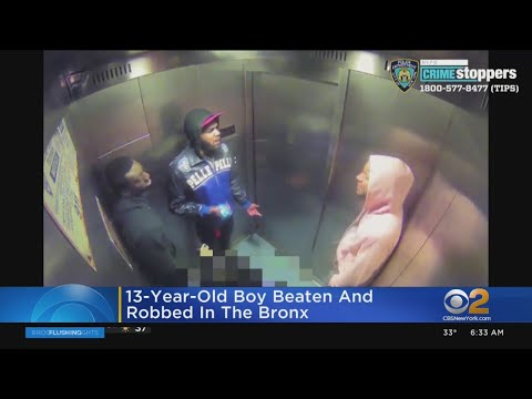 13-Year-Old Boy Beaten And Robbed In The Bronx