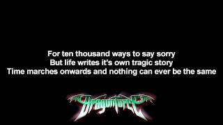 DragonForce - The Game ft. Matt Heafy | Lyrics on screen | Full HD
