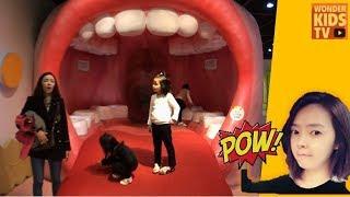 신기한 인체 박물관 l 어린이 박물관 인체의 신비 과학의 비밀을 풀어라! l Children