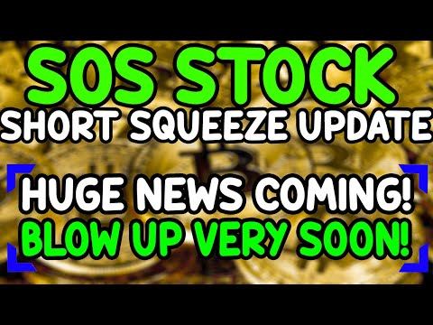 WHAT'S GOING ON WITH SOS?! SOS STOCK Update and Predictions