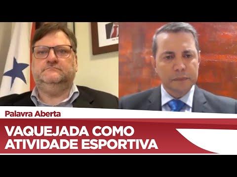 Paulo Bengtson fala sobre a vaquejada como atividade esportiva - 13/05/2021