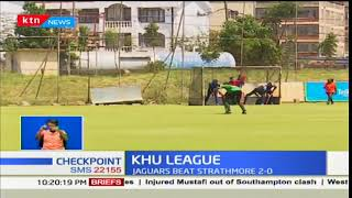 Jaguars beat Strathmore in the KHU League