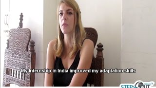 Internship in India Improves Adaptation Skills