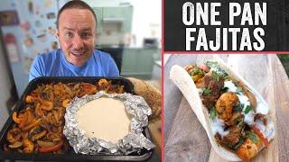 One pan fajitas recipe