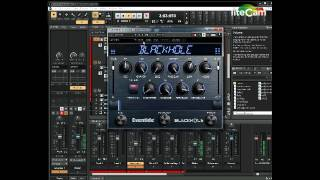 Eventide Blackhole VST demo - All Presets on Drums then piano