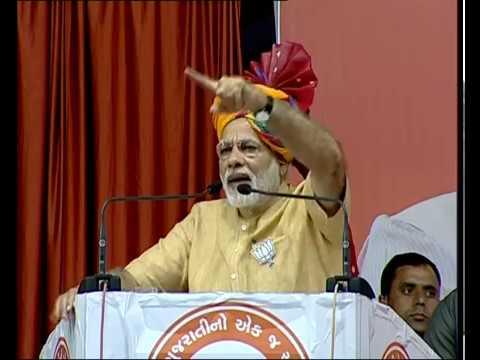 PM Modi addresses Public Meeting in Nadiad, Gujarat