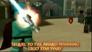 star wars lego, LEGO Star Wars II Trailer