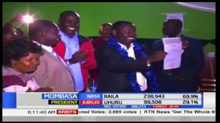 Samburu Governor and Women Rep. a happy lot as they retain their seats