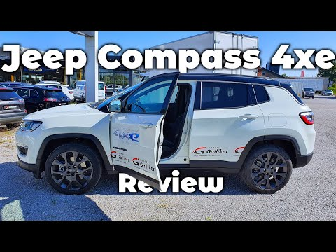 New Jeep Compass 4xe Plug-in Hybrid 2020 Review Interior Exterior