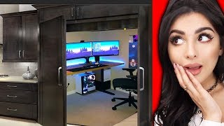 Mind Blowing SECRET ROOMS In Peoples Homes