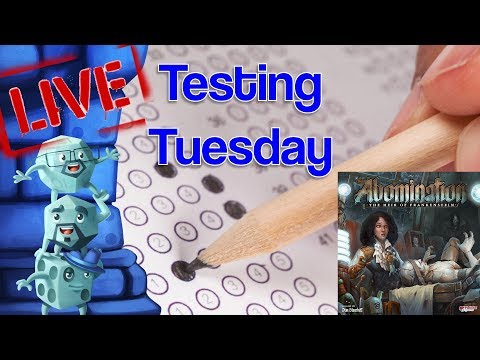 Testing Tuesday (Aug 20)