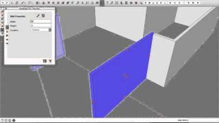 3.2 Wall Editing
