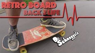 RETRO SKATEBOARD back 2 life: Scheunenfund 22 Jahre alt.... retrofit