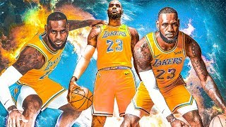 LeBron James - Most Ridiculous Shots of 2018!