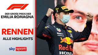 Verstappen triumphiert vor Hamilton! | Rennen - Highlights | Preis von Emilia Romagna | Formel 1