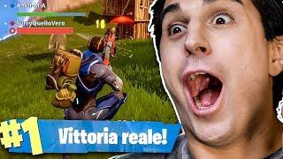 ANIMA E SURRY SU FORTNITE!! UNA VITTORIA REALE EPICA!