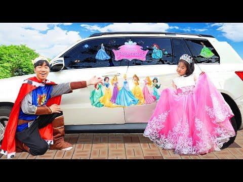 보람이의 공주드레스 파티놀이 Boram is going to the princess party