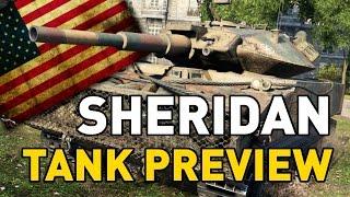 World of Tanks || Sheridan - Tank Preview
