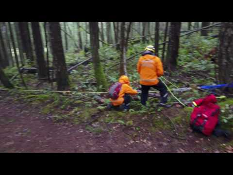 Salt Spring SAR Training Exercise