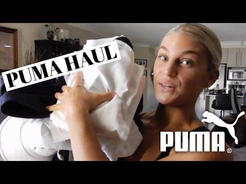 PUMA ACTIVEWEAR TRY-ON HAUL | DES'REE BARNES