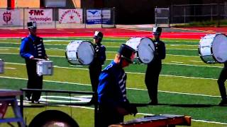 Peaster High School Marching Band at 2011-2012 UIL Marching Band Contest