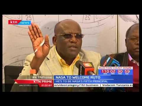 NASA to officially receive the Chama Cha Mashinani party leader Isaac Ruto at the Bomas of Kenya