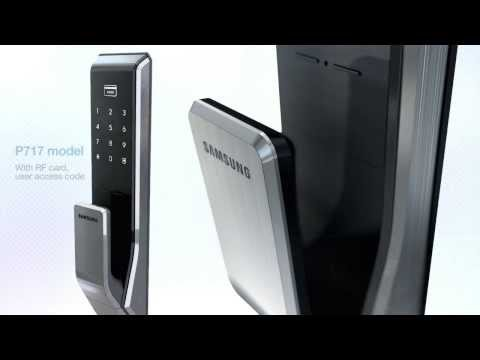 SHS-P717 - Samsung Smart PUSH PULL Doorlock