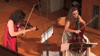 Ravel Duo Mov  III, Kopatchinskaja Gabetta Live from Gstaad Menuhin Festival Aug  2014, Saanen Churc
