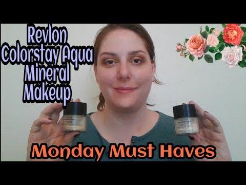 Revlon Colorstay Aqua Mineral Makeup: Monday Must Haves